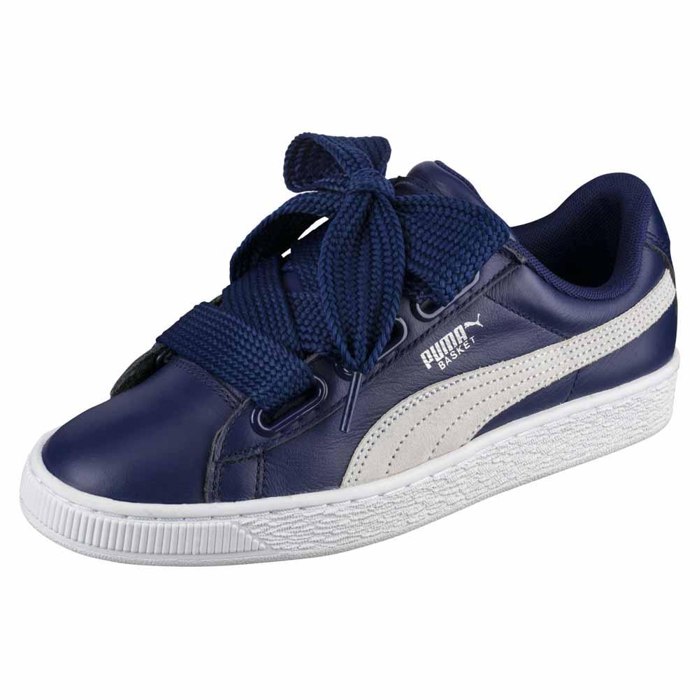 Sneakers Puma-select Basket Heart De EU 40 Blue Depths / Puma White