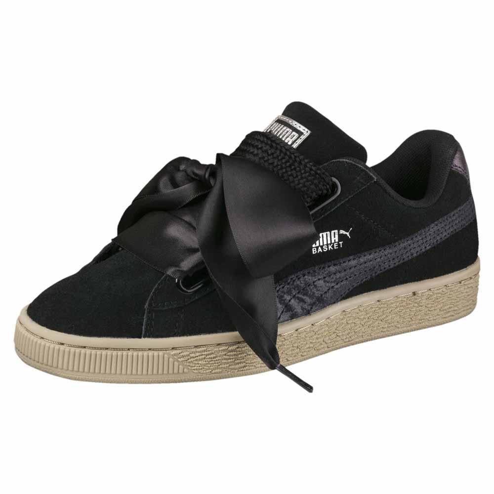 Sneakers Puma-select Suede Heart Safari EU 38 Puma Black / Puma Black