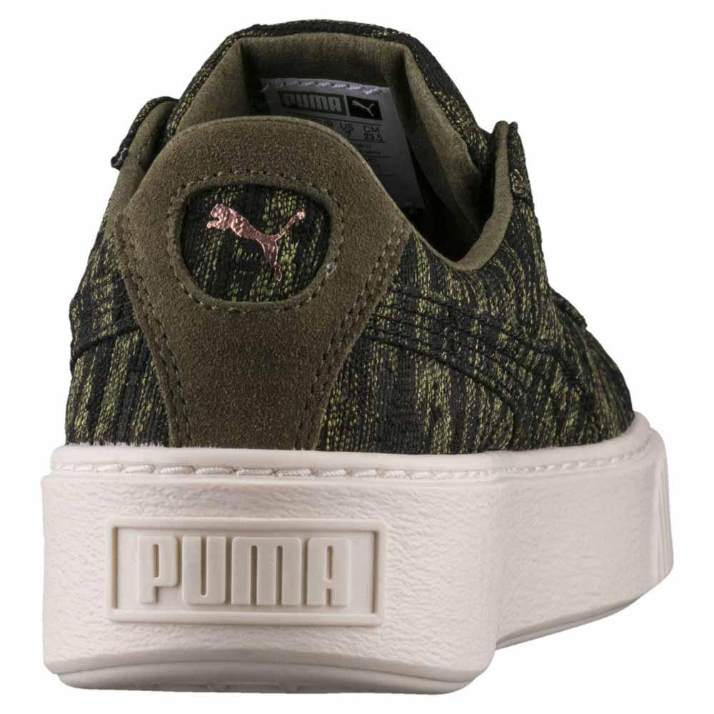 da2b7dcae219 Puma select Basket Platform VR Green buy and offers on Dressinn