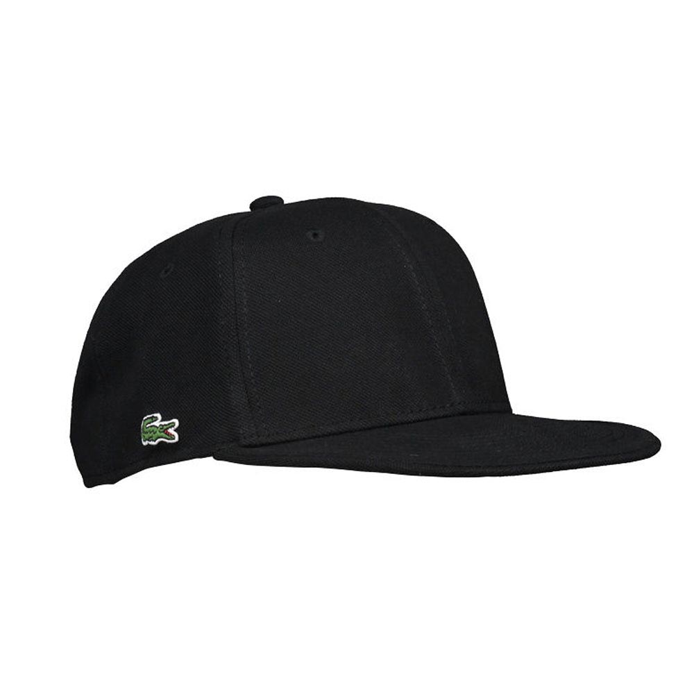 LACOSTE LIVE! Pique Cap Black buy and offers on Dressinn a96be1eed75