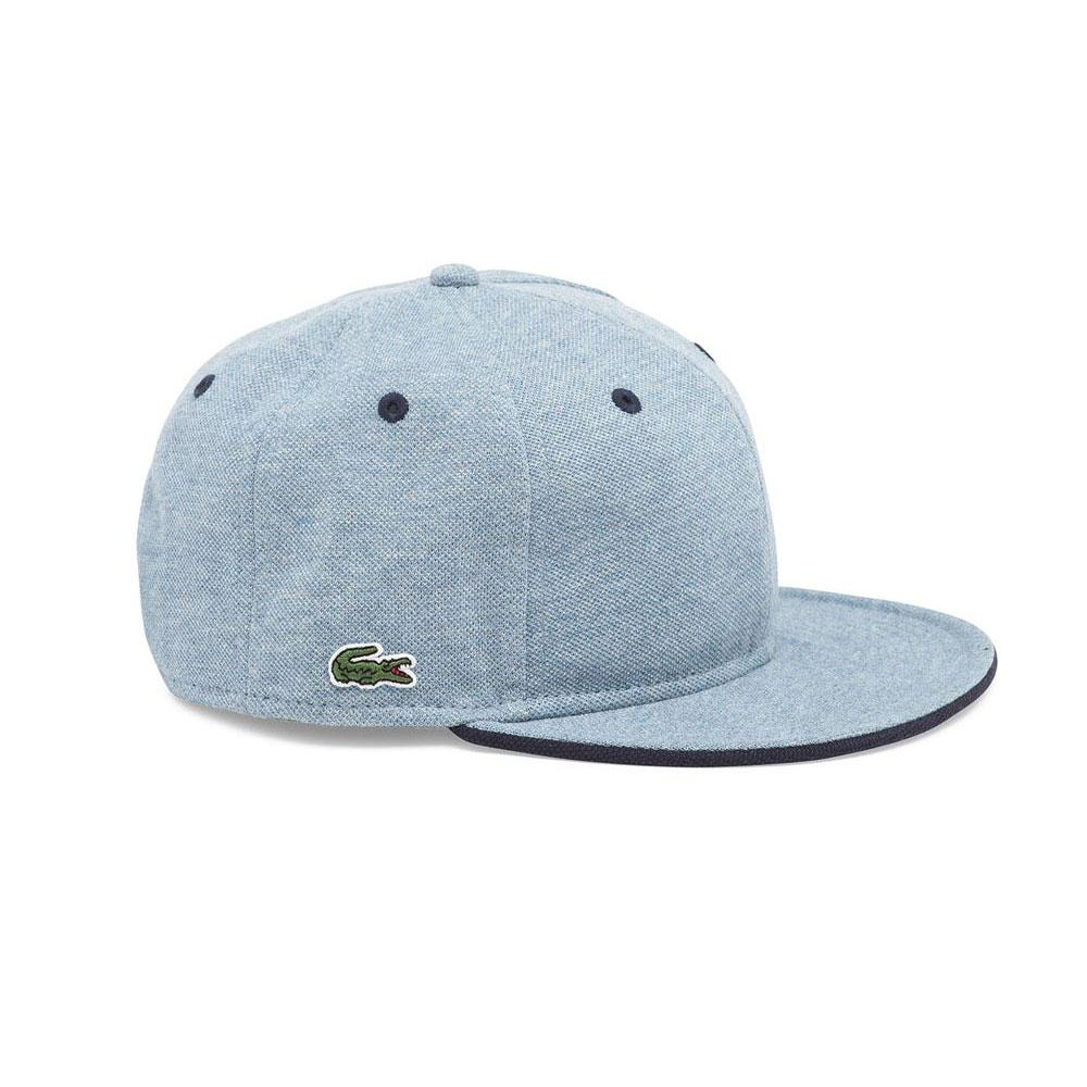 LACOSTE LIVE! Pique Cap Blue buy and offers on Dressinn 8b9947b2266