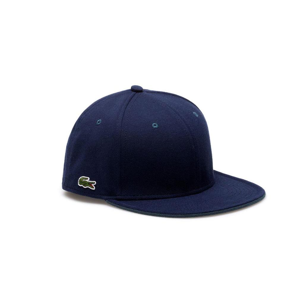 LACOSTE LIVE! Pique Cap Blue buy and offers on Dressinn aed1d210fe11