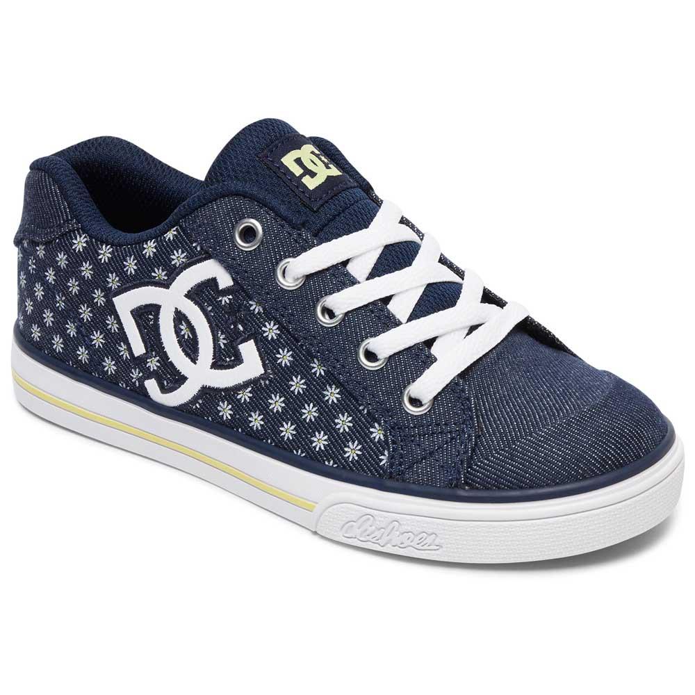 DC Shoes Chelsea TX SP, Zapatillas para Niñas, Azul (Denim), 31 EU