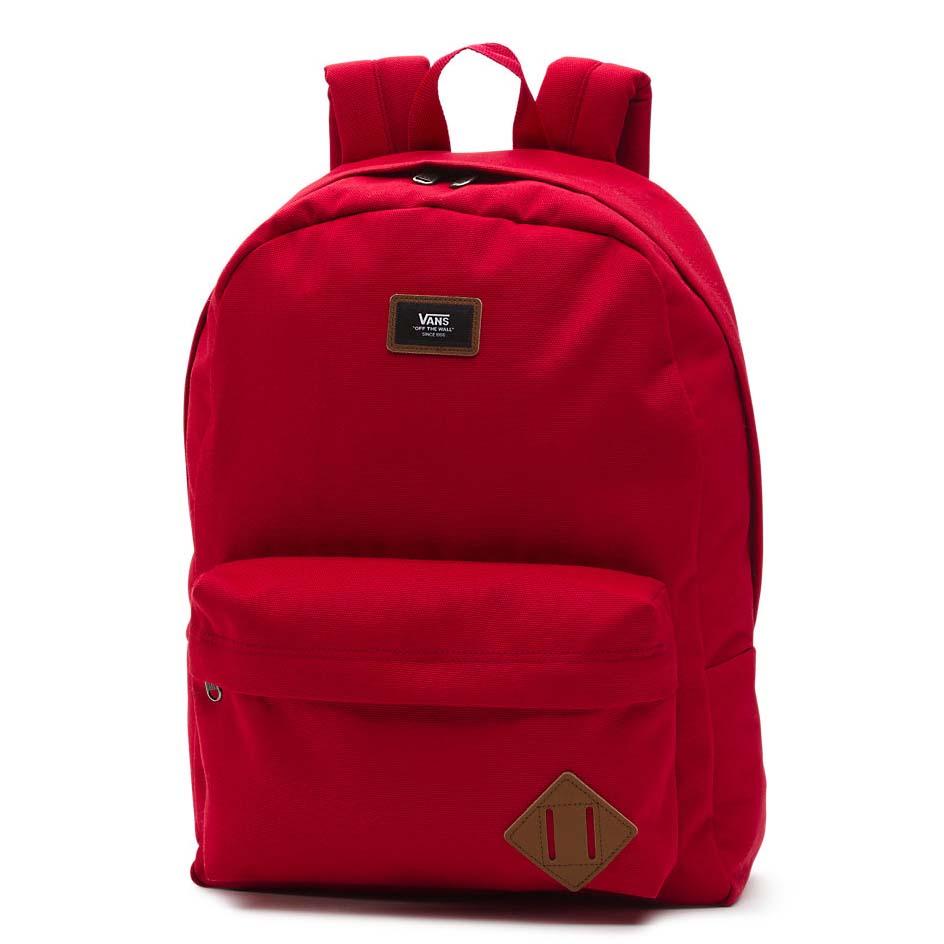 Vans Old Skool II Backpack 22L Red buy and offers on Dressinn fb8adf22c80