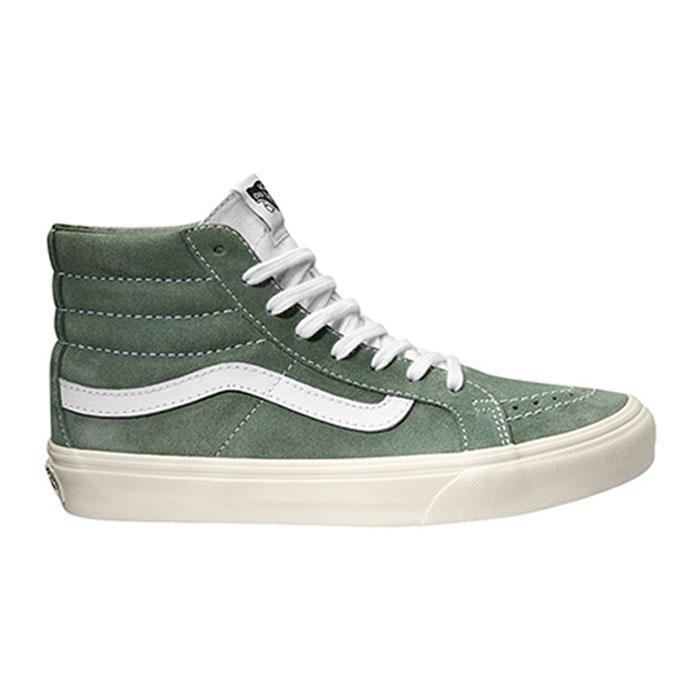 a8252cd8b4 Vans Sk8-Hi Slim Green buy and offers on Dressinn