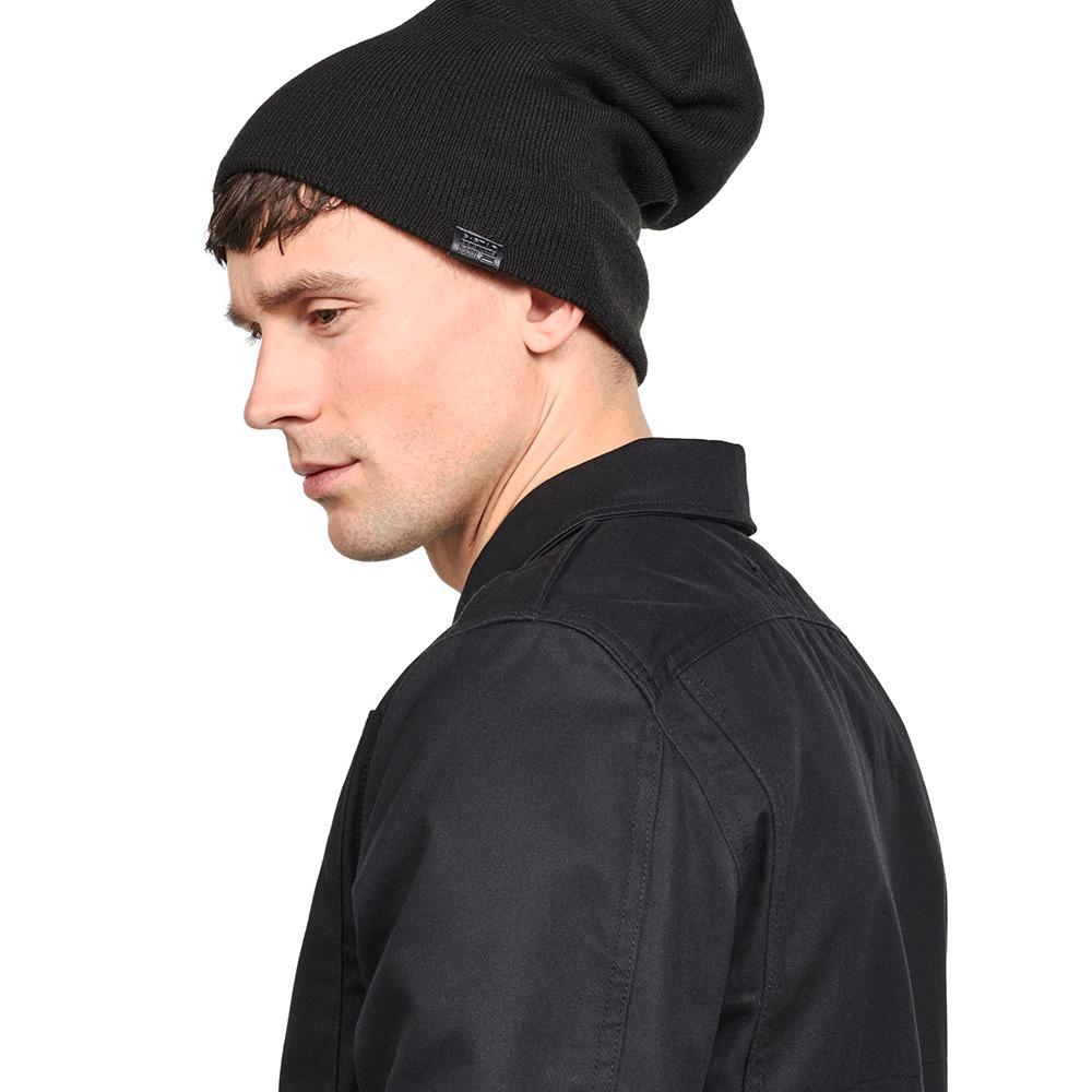 Gstar Effo Long Beanie Black buy and offers on Dressinn 78116003e95