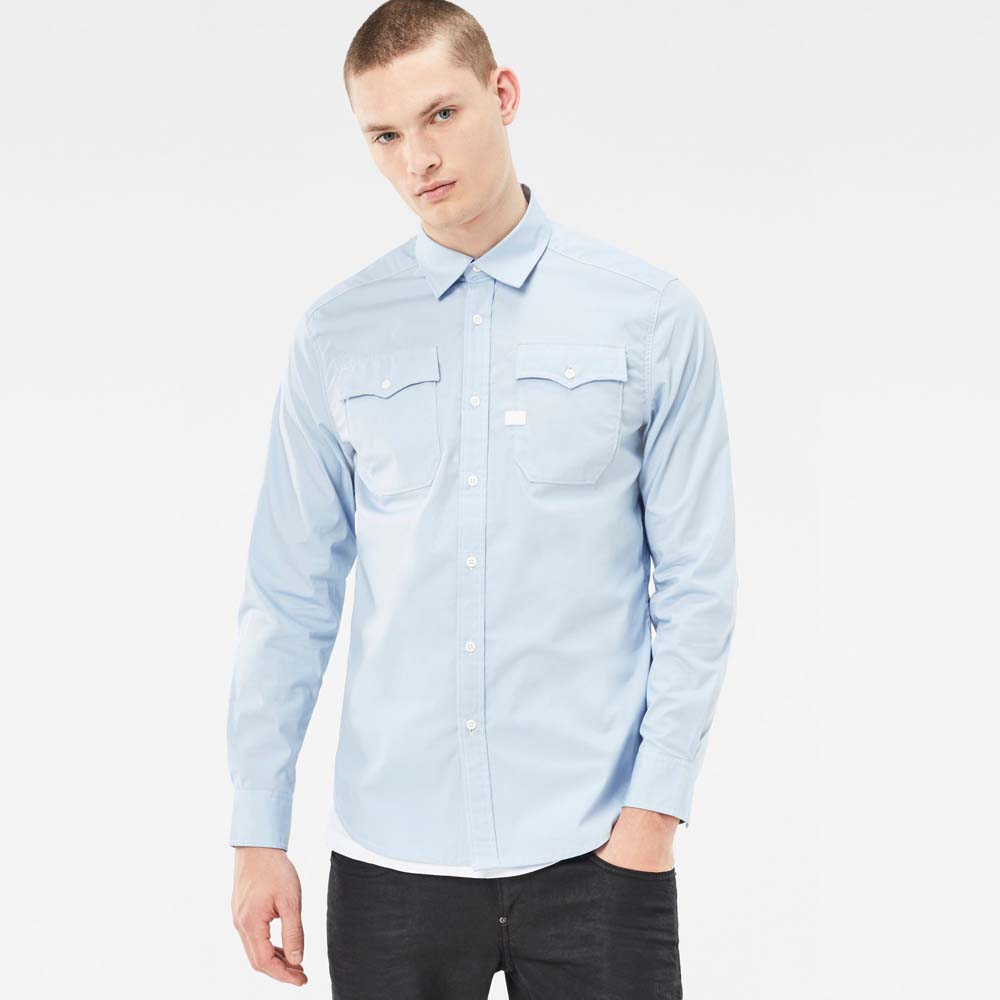 Gstar Landoh Shirt L/S Atton Stretch Poplin