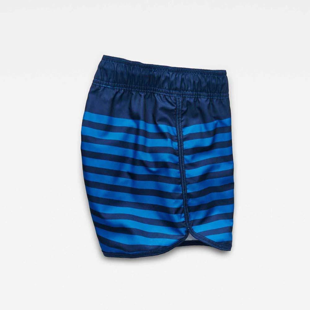 78e6a79c43 Gstar Dend Stripe Swimshort Ohna Nylon Stripe Aop Blue, Dressinn