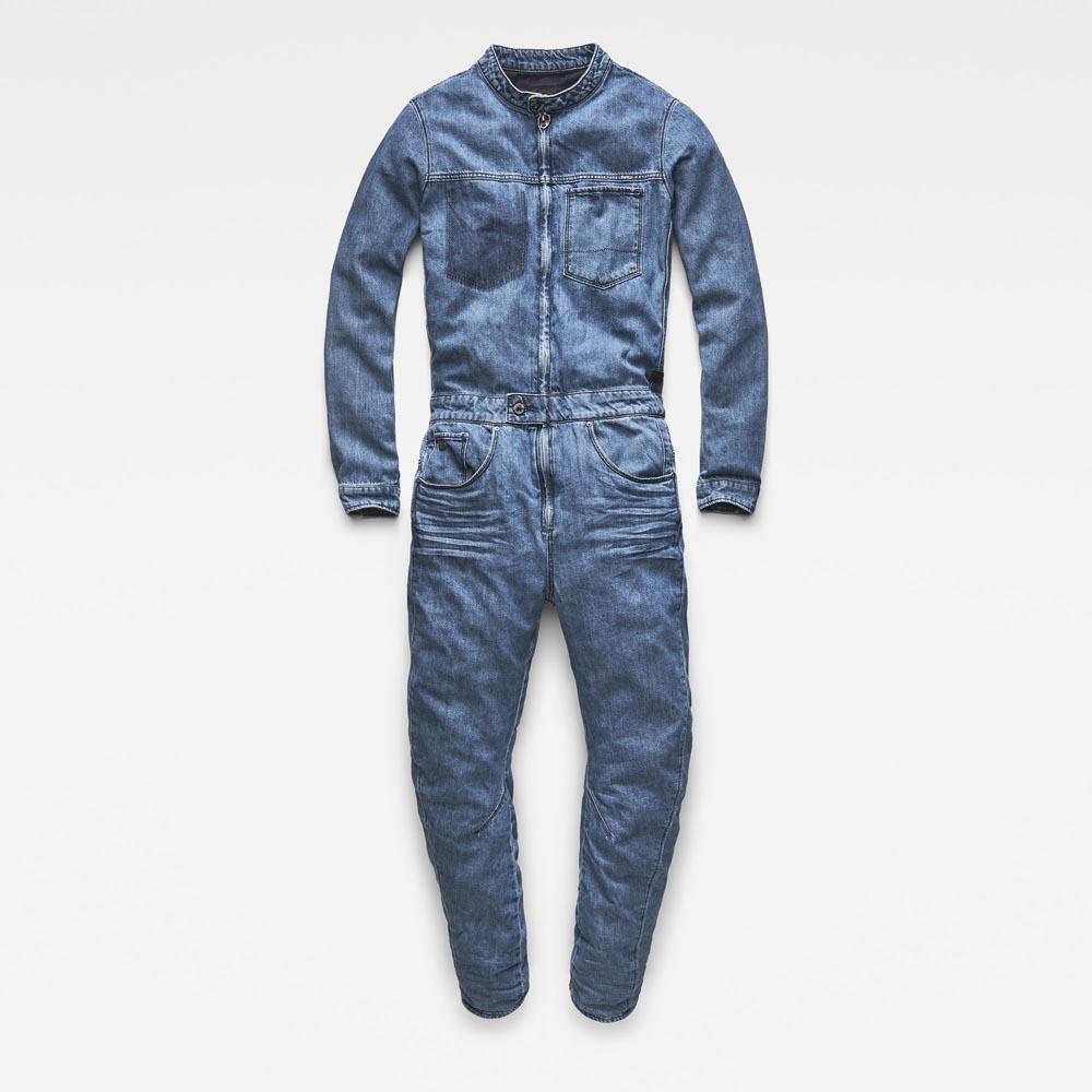 3655fc3b5a7 ... Gstar Arc 3D Zip Jumpsuit L Hacer 8.5Oz Denim ...
