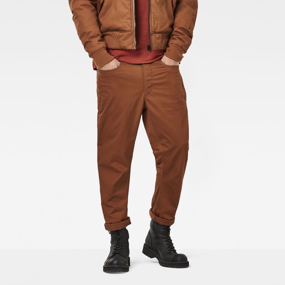 b04ccce637ec Gstar D Staq 3D Tapered Pants L32 Brown
