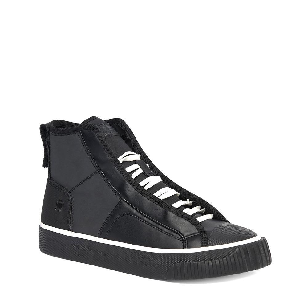 Sneakers Gstar Scuba Mid Reflective Synth Lth Textile Mix EU 36 Black