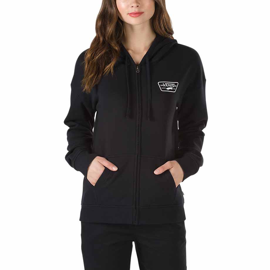 c328ac6f1b Vans Full Patch Zip Hoodie buy and offers on Dressinn