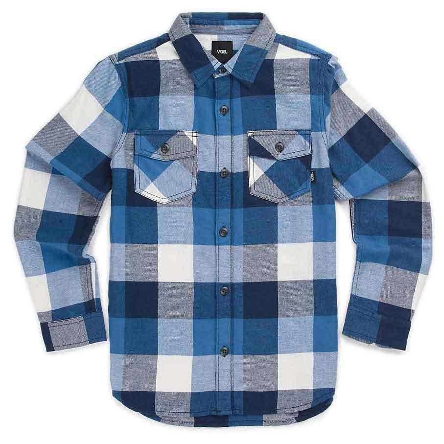 c660c61ab0 Vans Box Flannel Boys Blue buy and offers on Dressinn