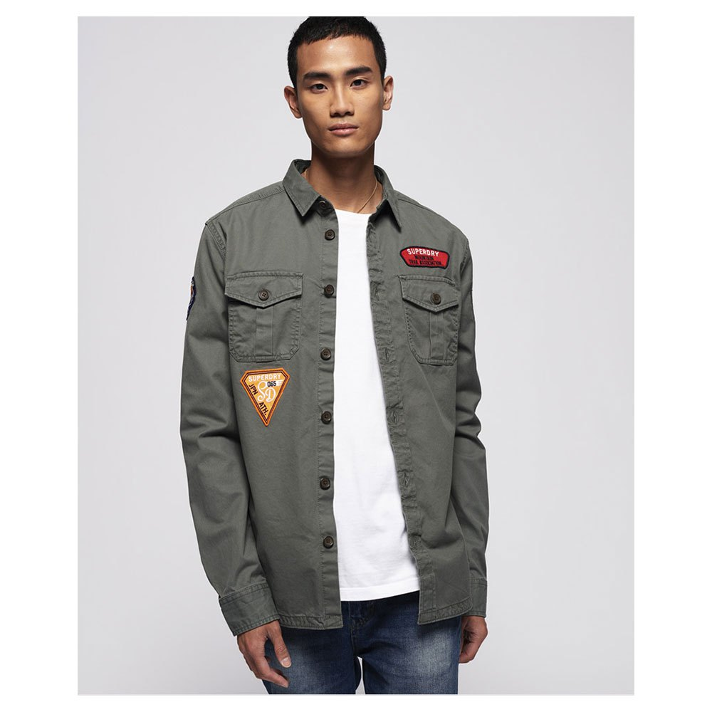 d4dac133 Superdry Trail Shirt Green buy and offers on Dressinn