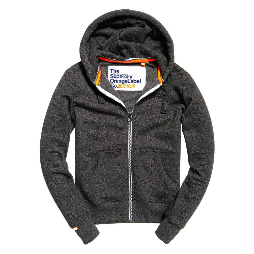 Superdry Orange Label Ziphood Black buy and offers on Dressinn 940eeb0d1b8d