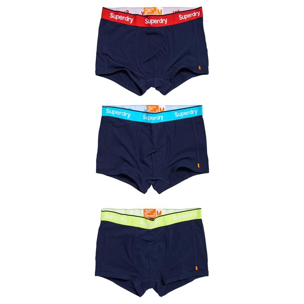 Superdry O.l Sport Trunk Triple Pack B/óxer para Hombre