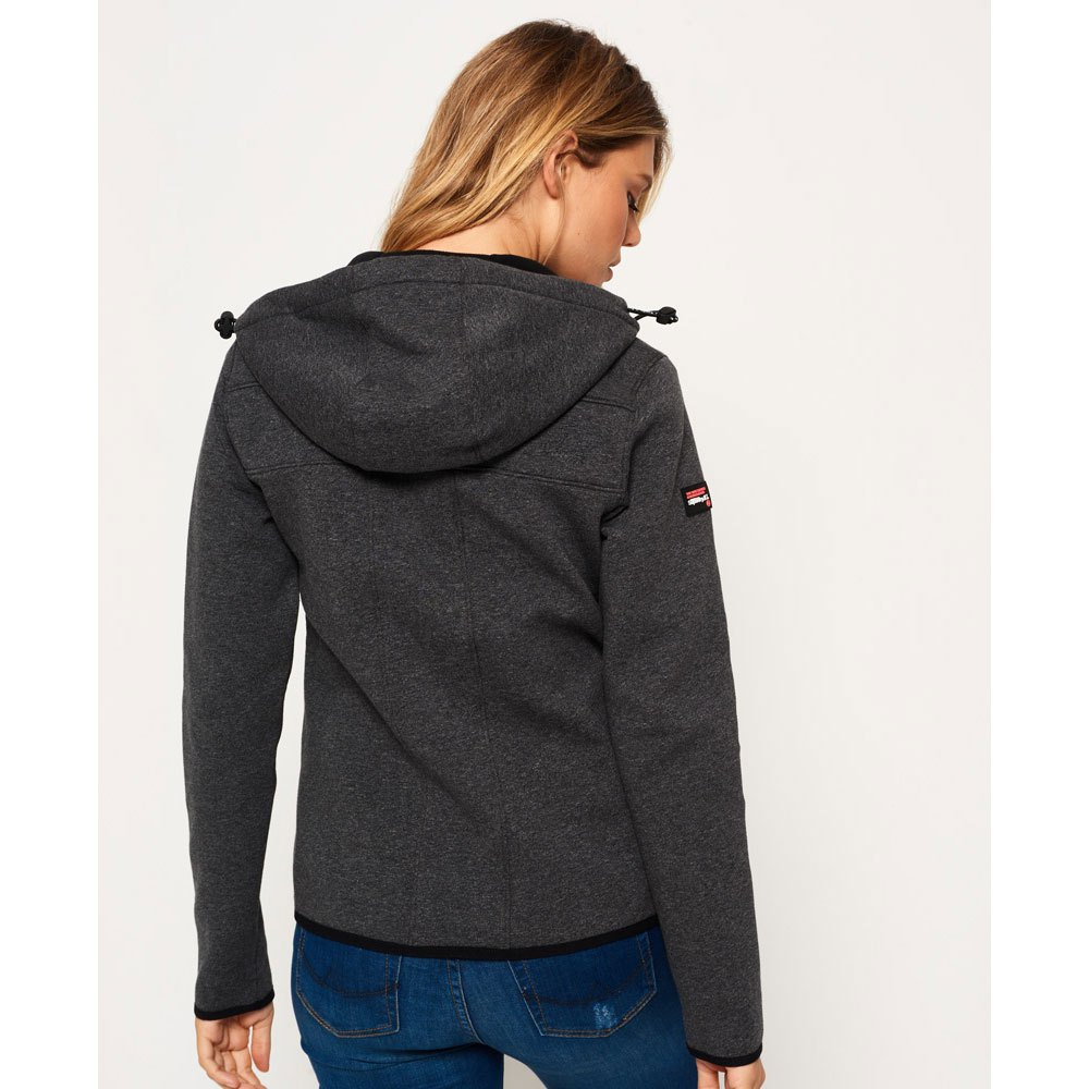 Superdry Hood Mountain Soft Windtrekker Gris, Dressinn
