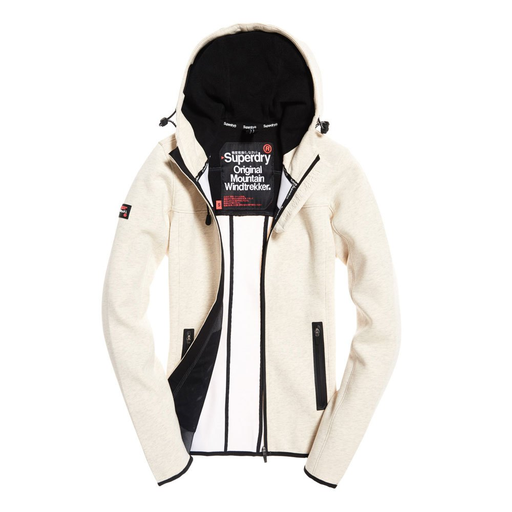 Superdry Hood Mountain Soft Windtrekker Noir, Dressinn