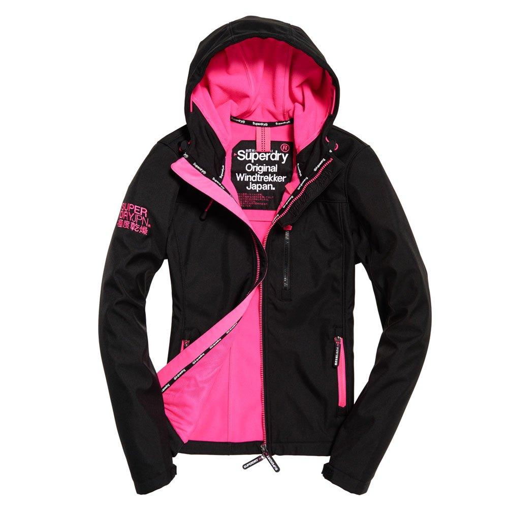 Superdry Hooded Windtrekker Black buy and offers on Dressinn e732a008d5a