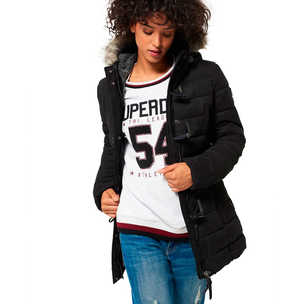 Superdry Microfbre Tall Toggle Puffle