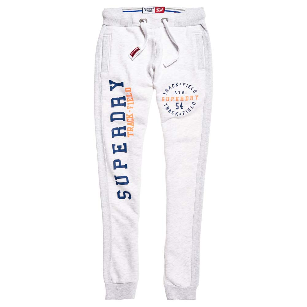 65d22135 Superdry Track & Field Jogger White buy and offers on Dressinn