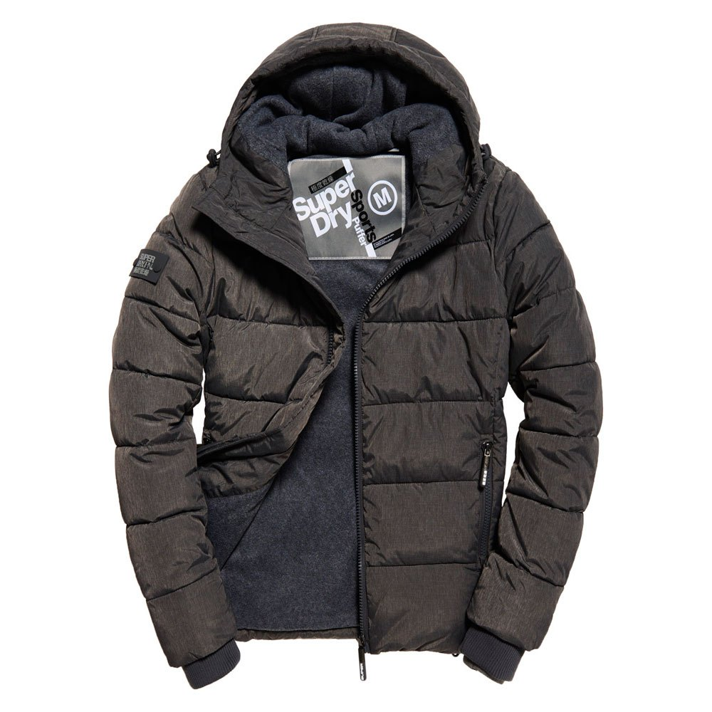 078e3815566 Superdry Sports Puffer Grey buy and offers on Dressinn
