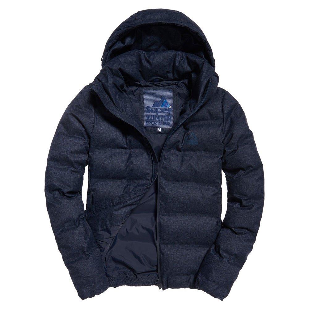 Superdry Echo Quilt Puffer Blue buy and offers on Dressinn bdd25b1cc11b