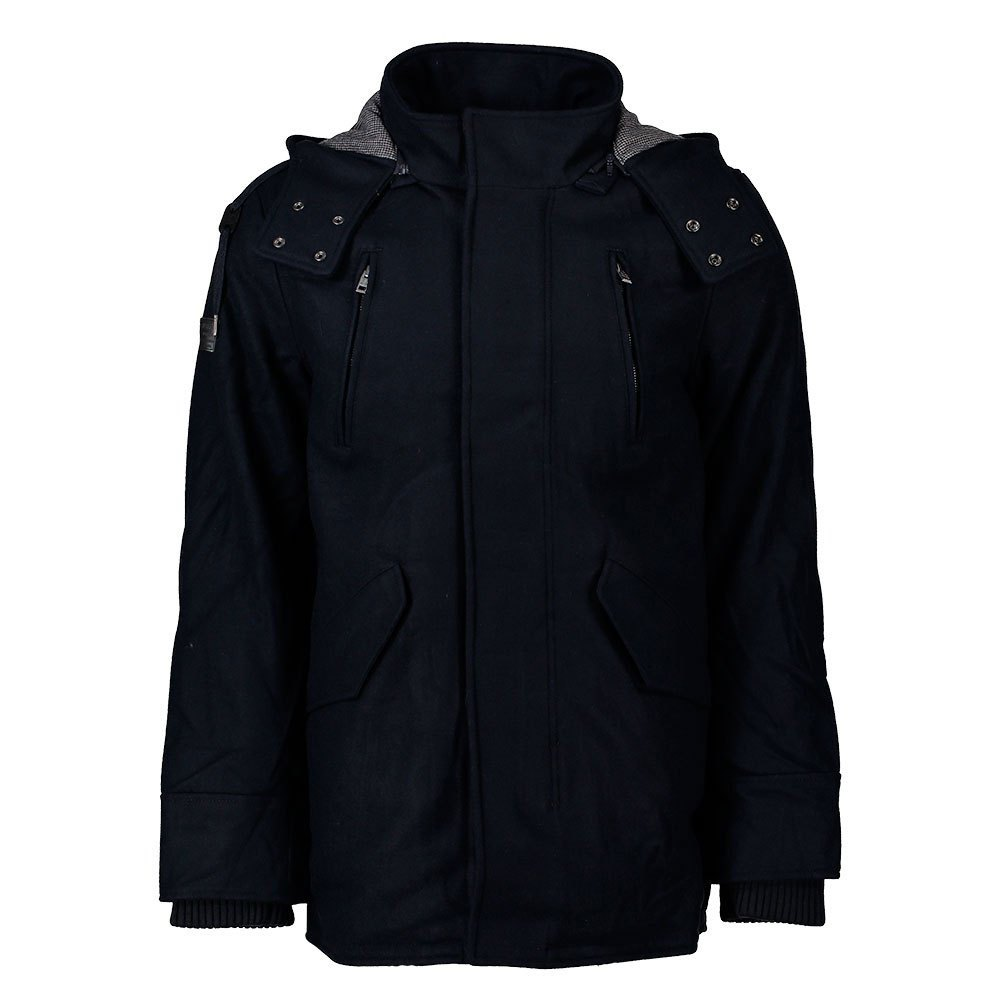 Superdry Glacial Hooded Wool Parka