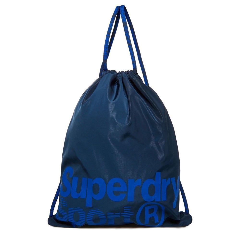 84f3a7597b5f Superdry Drawstring Sports Bag Blue buy and offers on Dressinn