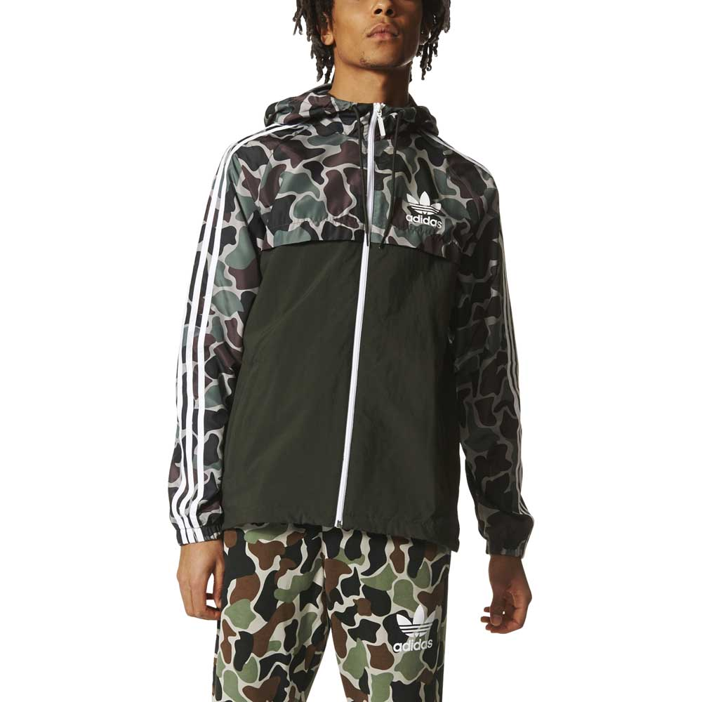 adidas originals Camo Reversible Windbreaker , Dressinn