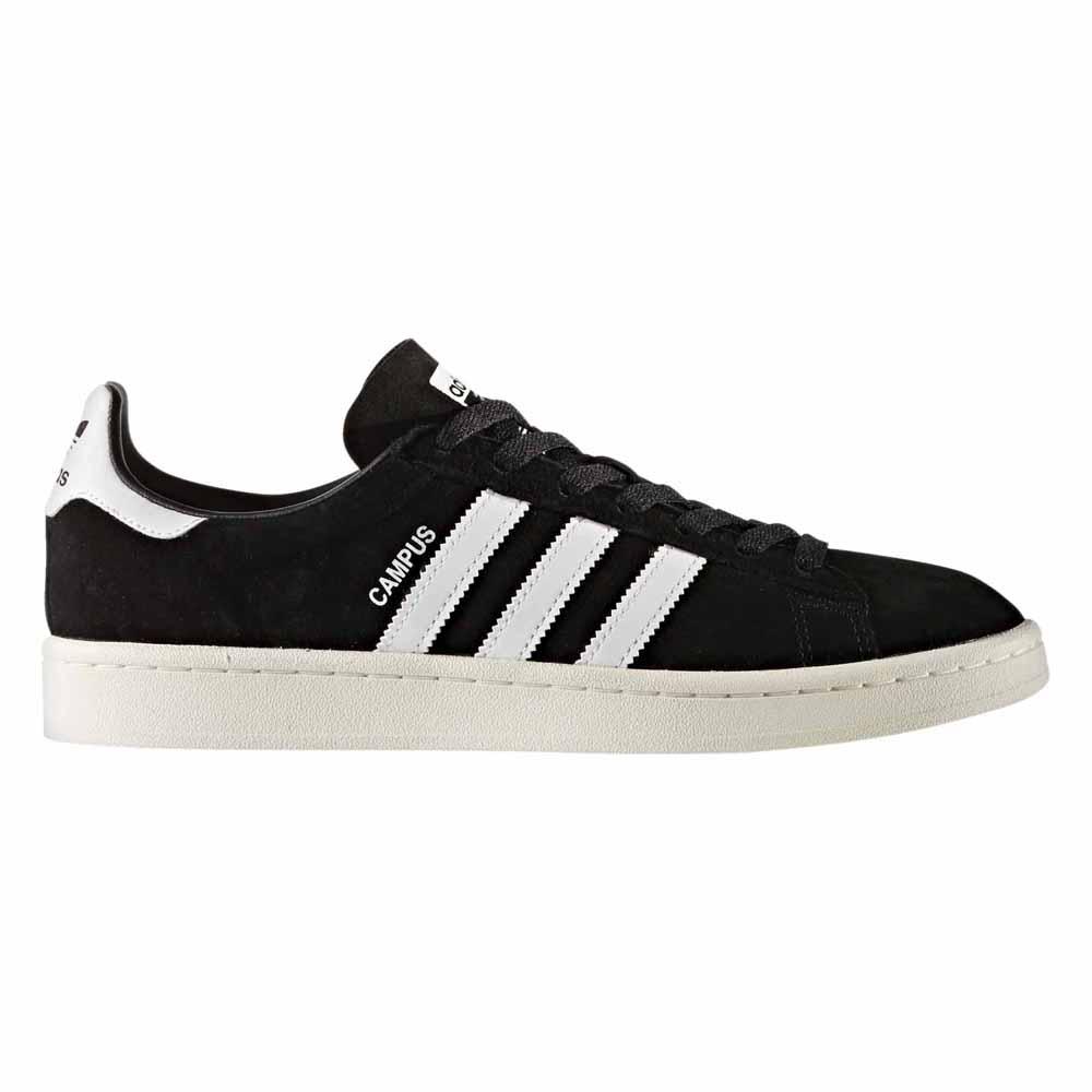 Adidas-originals Campus EU 44 2/3 Core Black / Ftwr White / Chalk White
