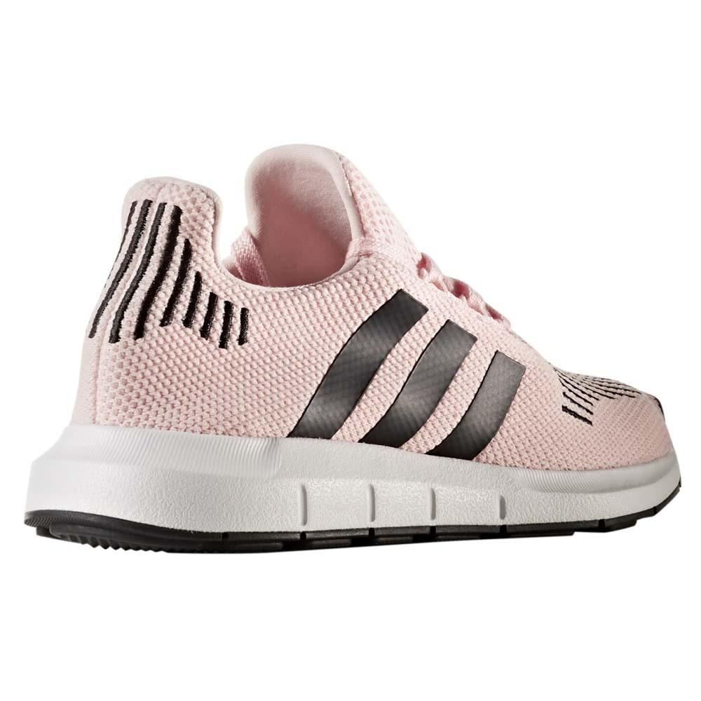 adidas originali swift di scappare, il nucleo nero / bianco / rosa ftwr