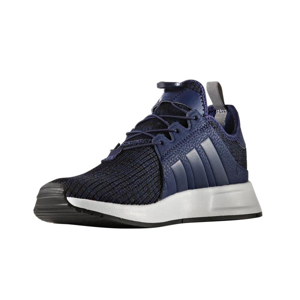 adidas originali x a infrarossi j blu scuro / blu scuro / ftwr bianco, dressinn