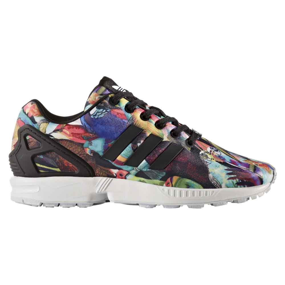 brand new ecd78 478da adidas originals Zx Flux Multicolor buy and offers on Dressinn
