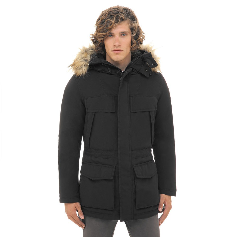 Napapijri Skidoo Open Long 1 Black buy and offers on Dressinn f8db261b2f8