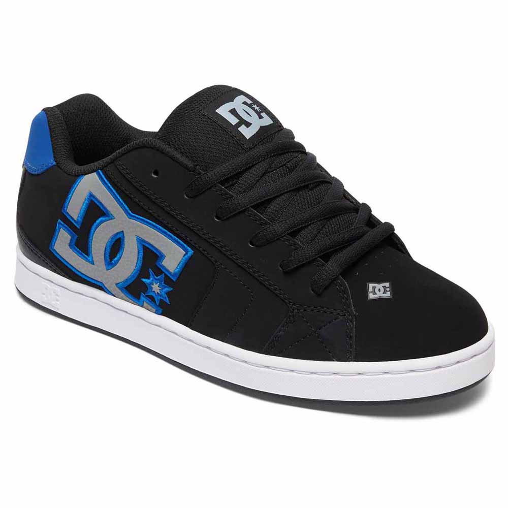 dc net black sneakers