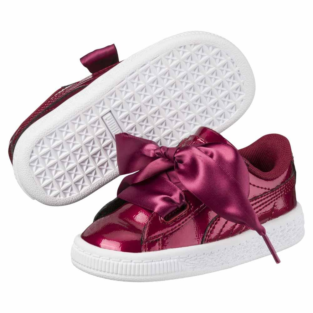 6087a8afc59 Puma select Basket Heart Glam PS Red buy and offers on Dressinn