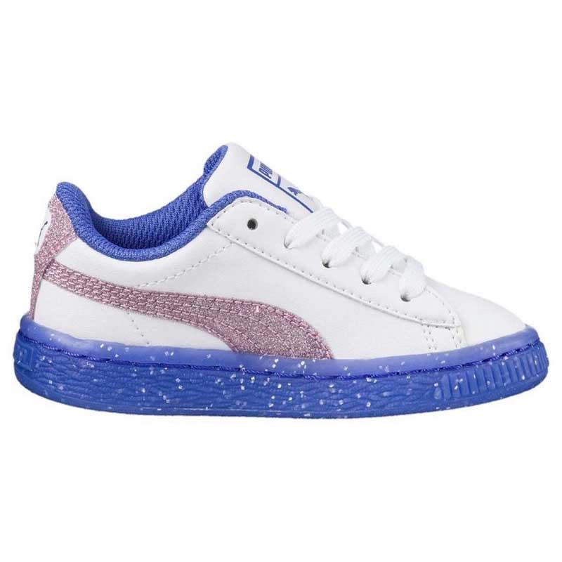2ea990efd080 Puma Basket Iced Glitter 2 Infant buy and offers on Dressinn
