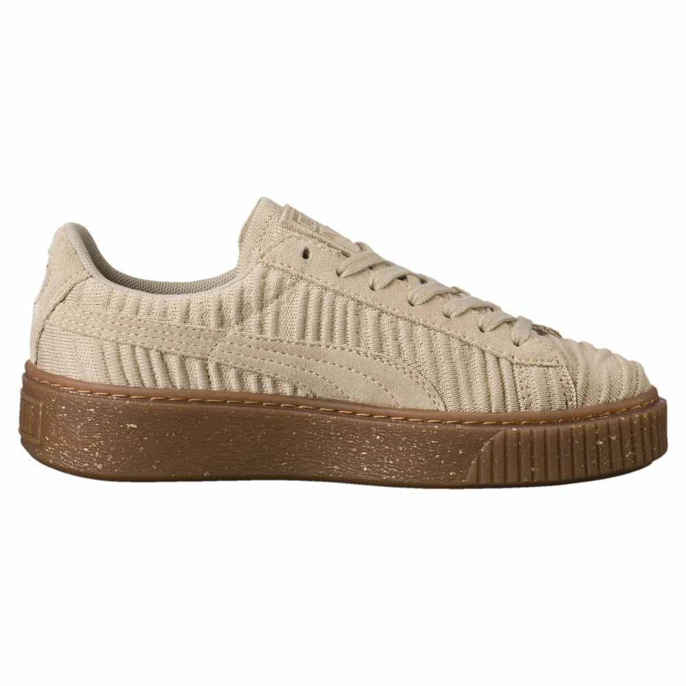 1986311ef06 Puma select Basket Platform OW Beige buy and offers on Dressinn
