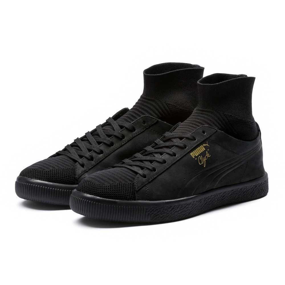 1065c15e4b19 Puma Clyde Sock Black buy and offers on Dressinn