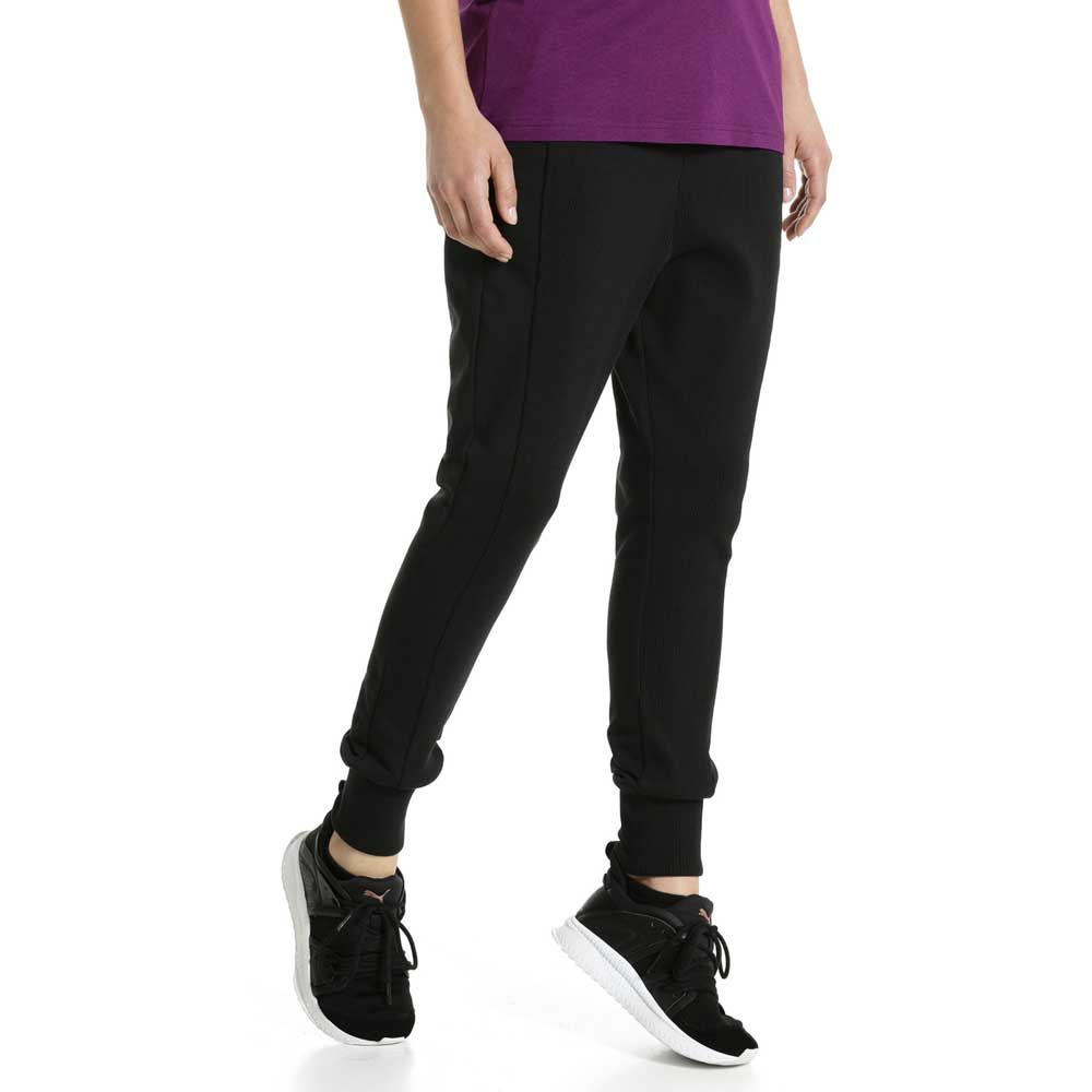 3186c155f491 Puma Fusion Sweat Pants Black buy and offers on Dressinn