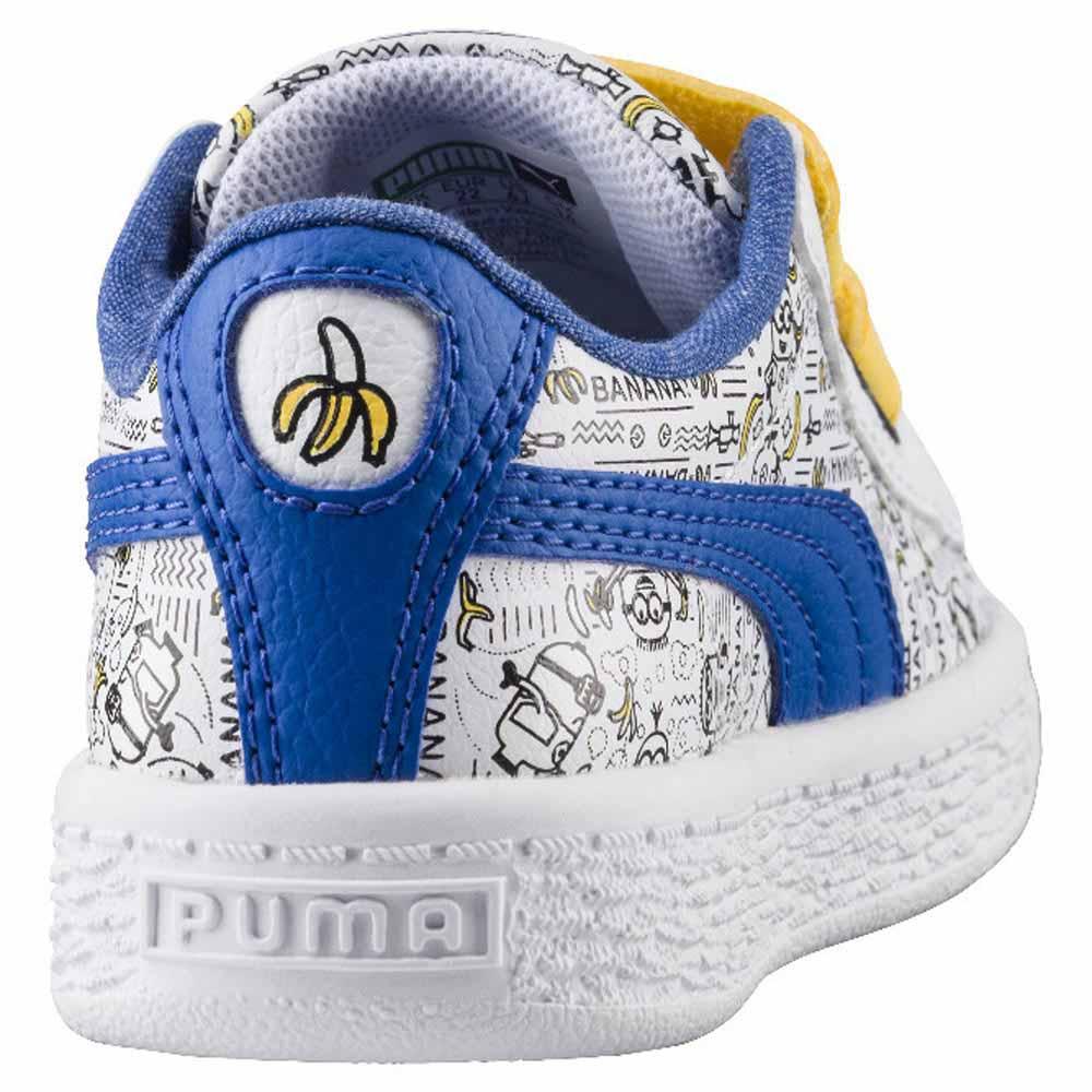 Puma Minions Basket V PS Blanc acheter et offres sur Dressinn