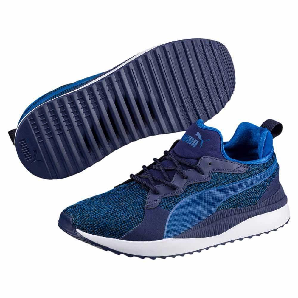 Puma Pacer Next Tw Knit Blue buy and offers on Dressinn dbd2ef5d6