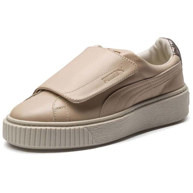 mieux choisir Achat/Vente hot-vente dernier Puma Platform Strap Up Beige buy and offers on Dressinn