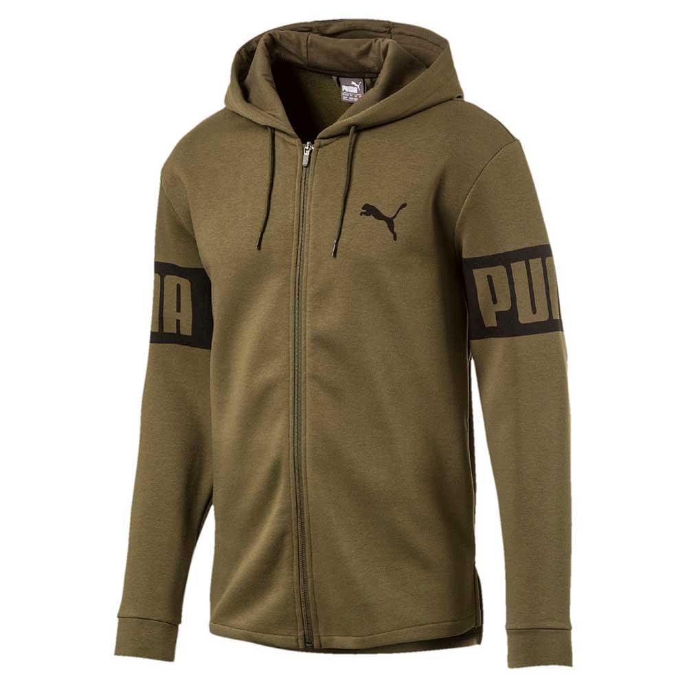 bcf702dee2093 Puma Rebel Full Zip Hoodie buy and offers on Dressinn