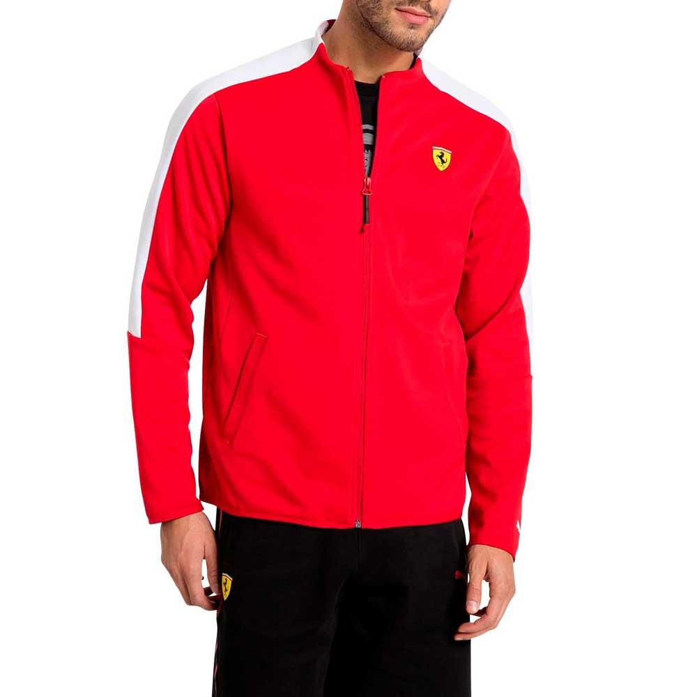 product rossa lyst men clothing gallery track jacket scuderia corsa for ferrari normal red puma in
