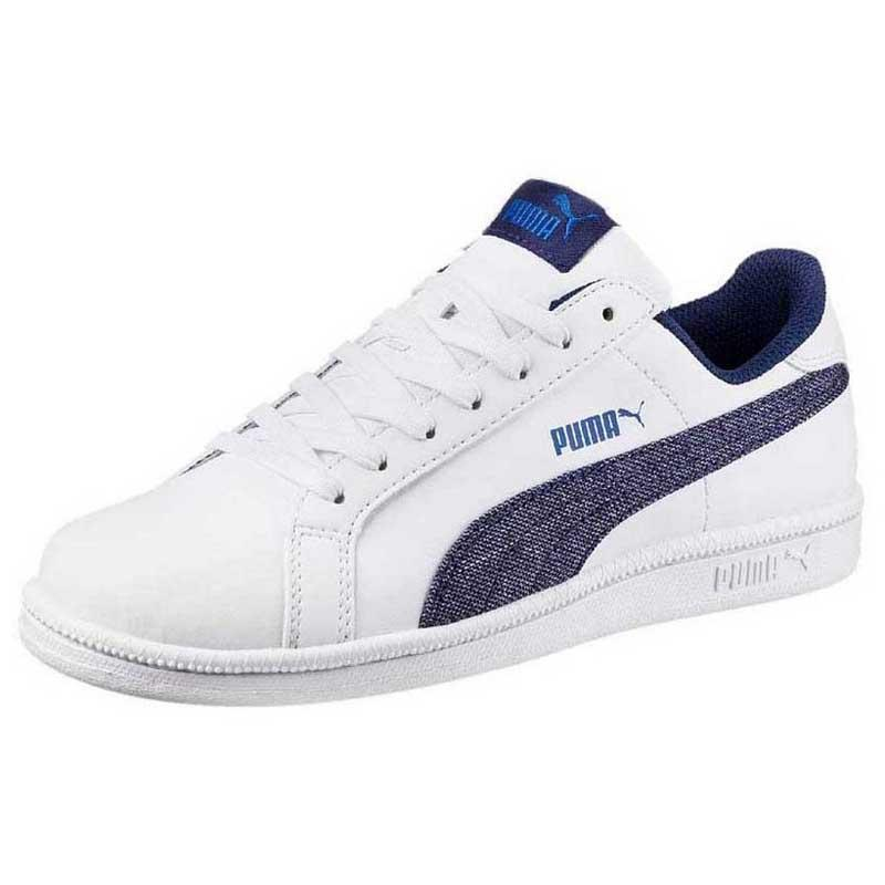 4d24a0e1912 Puma Smash Denim FS White buy and offers on Dressinn