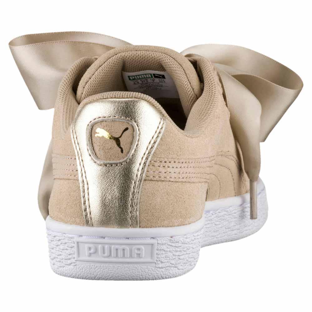 puma heart beige