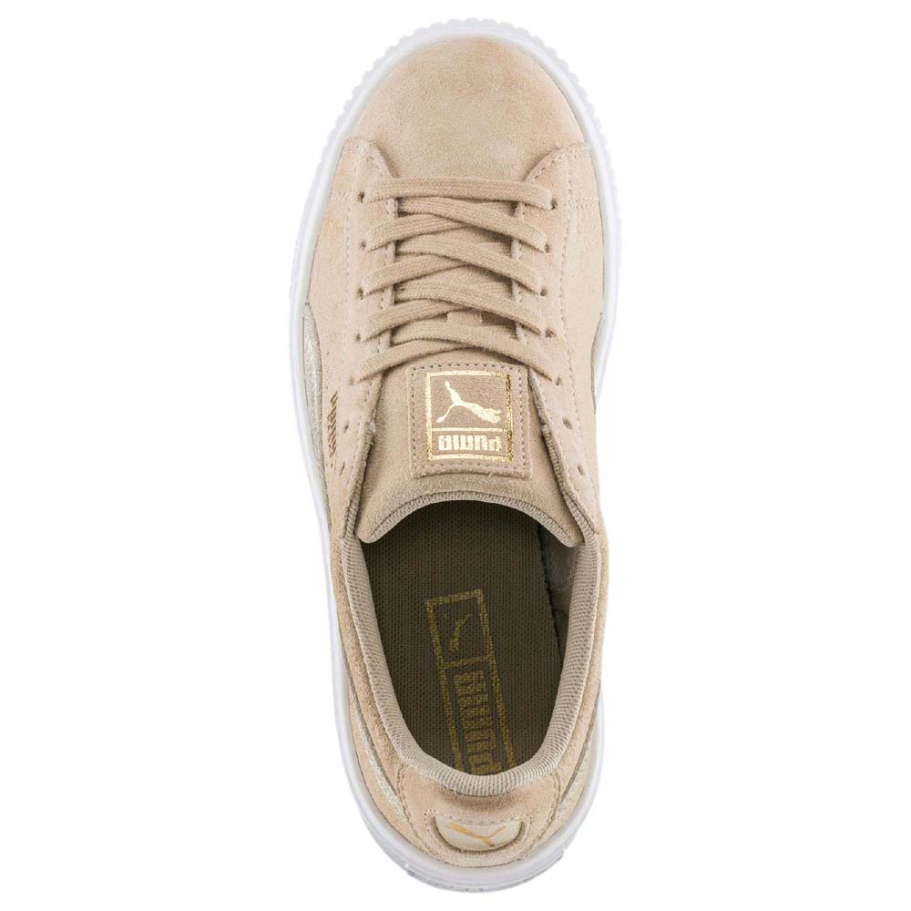 Safari Puma Suede MarronDressinn Select Platform Qdthsr