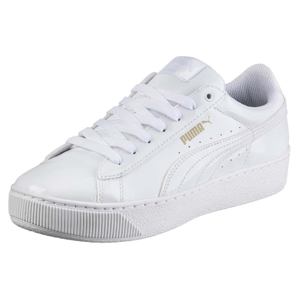 ab92509e5a52 Puma Vikky Platform Patent White buy and offers on Dressinn